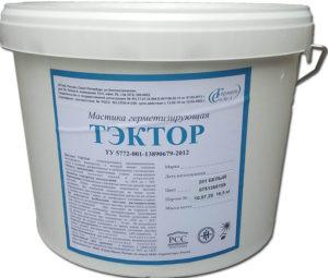 Мастика ТЭКТОР 201 (16,5 кг) белая