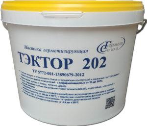 Мастика ТЭКТОР 202 (12,5кг) белая