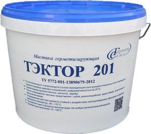 Мастика ТЭКТОР 201 (12,5кг) белая