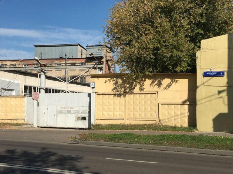 Новый въезд на завод Термокомфорт